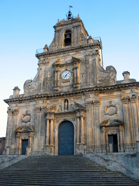 Palazzolo Acreide chiesa San Sebastiano